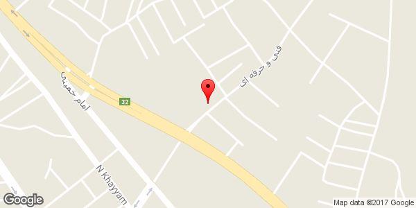 موقعیت کابین محک روی نقشه