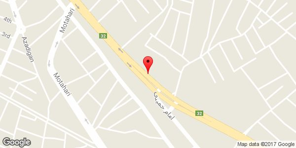 موقعیت جلوبند سازی باقر روی نقشه