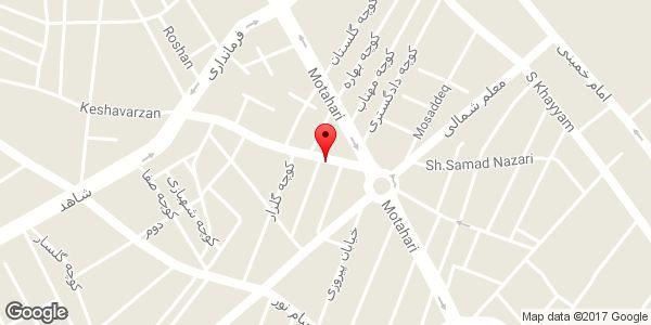 موقعیت دبیرستان پسرانه غیر دولتی عرفان روی نقشه