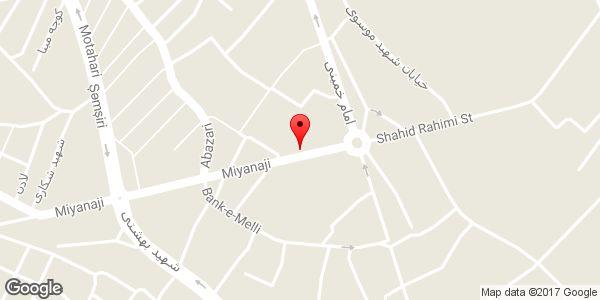موقعیت فروشگاه لباس زنانه SALE روی نقشه