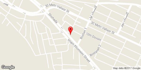 موقعیت باطری سازی و باطری فروشی محمد روی نقشه