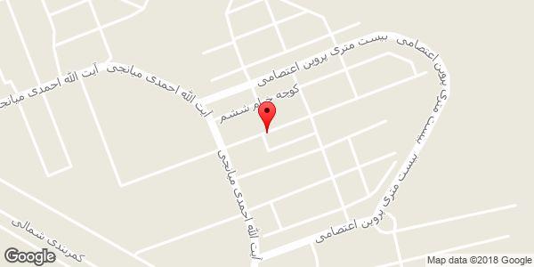 موقعیت مسجد امام علی روی نقشه