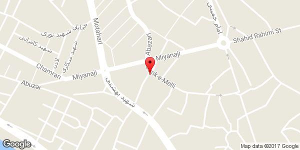 موقعیت فروشگاه تاسیساتی آقامحمدی روی نقشه
