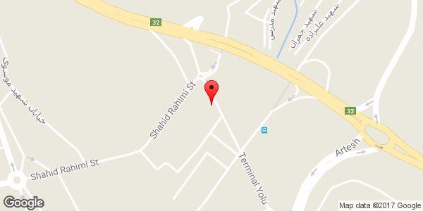 موقعیت دیزی سرای و کبابی سن سون روی نقشه