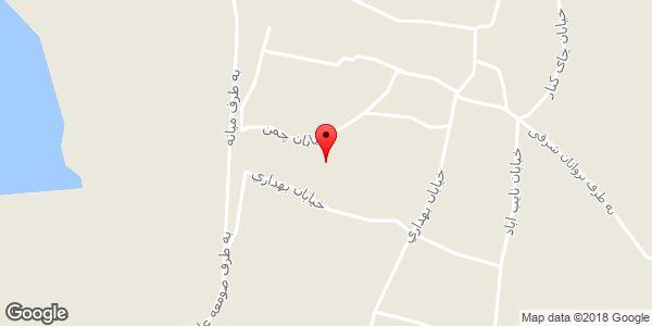 موقعیت روستای صومعه علیا روی نقشه