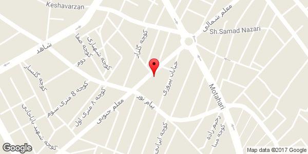 موقعیت دبستان دخترانه غیر دولتی گلستان عبدی روی نقشه