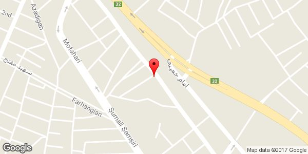 موقعیت فروشگاه لوازم خانگی ایران نمایندگی سامسونگ روی نقشه