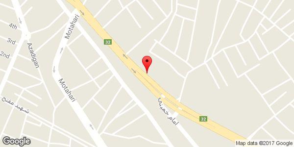موقعیت مصالح ساختمانی قافلان (امیری مقدم) روی نقشه
