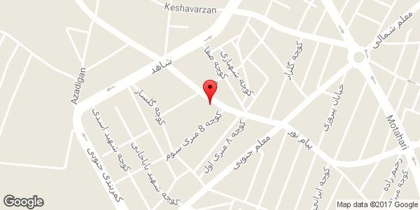 موقعیت باطری فروشی محمدی روی نقشه