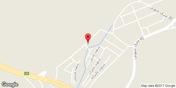 موقعیت فروشگاه رامین روی نقشه