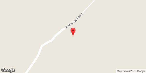 موقعیت روستای کنگاور روی نقشه