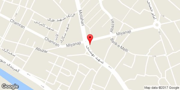 موقعیت گالری مبل چوبیران روی نقشه