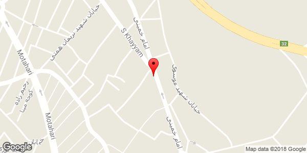 موقعیت مرکز تعمیرات تخصصی تکنو سرویس روی نقشه